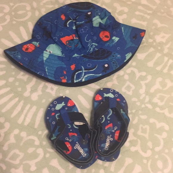 9f49ff54 Gymboree Shoes | Sandals With Reversible Bucket Hat | Poshmark